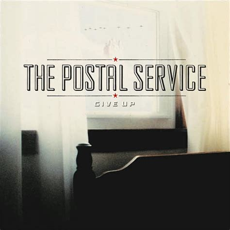 Give Up – The Postal Service | This is Stereo Control
