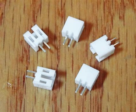 Mini 2 Pin Male Connector Housing with Pins 2