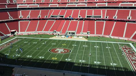 49ers-Chargers: Back to assess the Levi's Stadium field